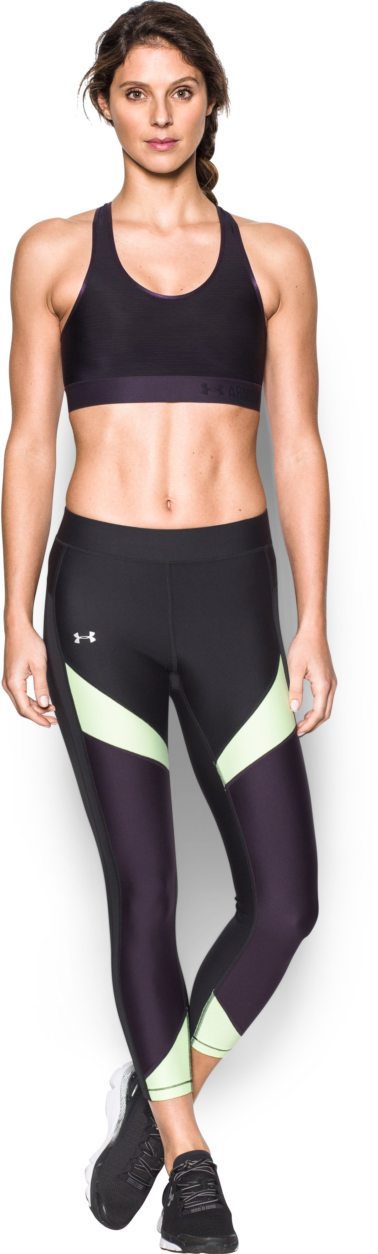 Women's Armour® Mid — Printed Sports Bra 2 Colors $22.99