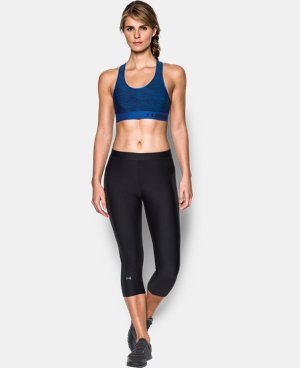 Women's Armour® Mid – Printed Sports Bra LIMITED TIME: FREE U.S. SHIPPING 1 Color $29.99