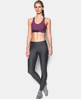 Women's Armour® Mid – Printed Sports Bra  6 Colors $20.99 to $26.99