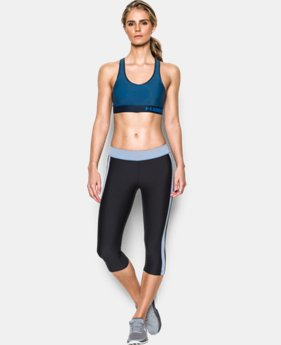 Women's Armour® Mid — Printed Sports Bra  2 Colors $29.99