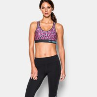 Under Armour Mid Printed Womens Sports Bra