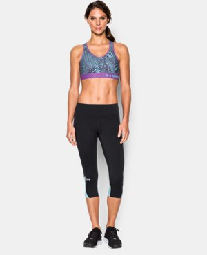 New to Outlet Women's Armour® Mid – Printed Sports Bra LIMITED TIME: FREE U.S. SHIPPING 3 Colors $13.49 to $17.99
