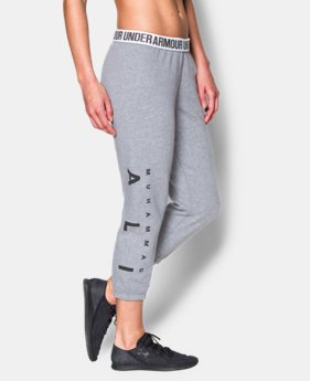 Women's UA Muhammad Ali Favorite Fleece Capri  1 Color $44.99