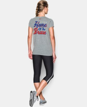 Women's UA USA Tee  1 Color $34.99
