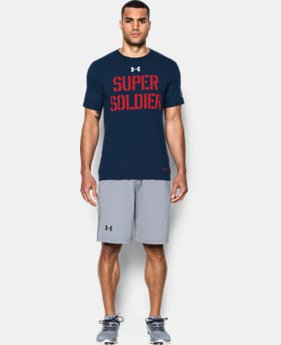 New Arrival  Men's Under Armour® Alter Ego Captain America Super Soldier T-Shirt  1 Color $39.99