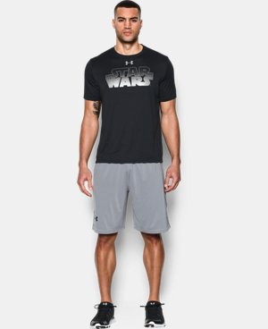 Men's Star Wars UA Wordmark T-Shirt LIMITED TIME: FREE U.S. SHIPPING 1 Color $34.99