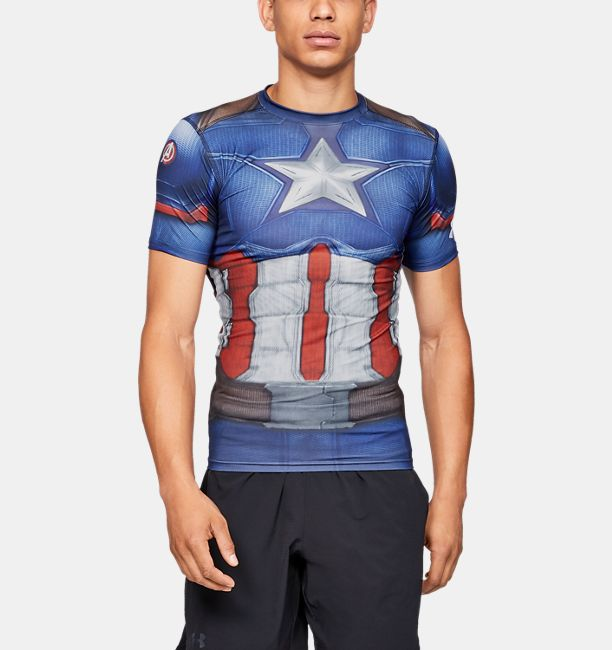 003326f55313 Men s Under Armour® Alter Ego Captain America Compression Shirt ...