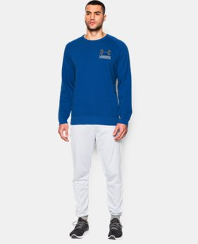 Men's UA Sportstyle Fleece Crew  1 Color $44.99