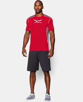 New to Outlet Men's Cincinnati Reds UA Raid Short Sleeve T-Shirt LIMITED TIME: FREE U.S. SHIPPING 1 Color $29.99