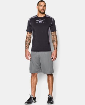 New to Outlet Men's Colorado Rockies UA Raid T-Shirt LIMITED TIME: FREE U.S. SHIPPING  $29.99
