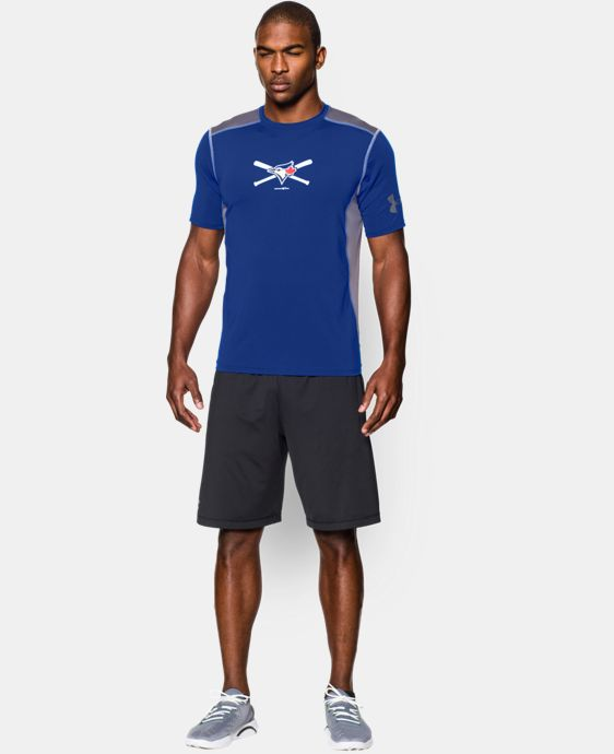 New to Outlet Men's Toronto Blue Jays UA Raid T-Shirt LIMITED TIME: FREE U.S. SHIPPING 1 Color $29.99