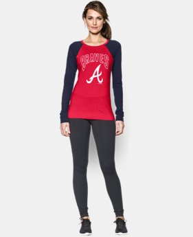 Women's Atlanta Braves UA Tri-Blend Long Sleeve