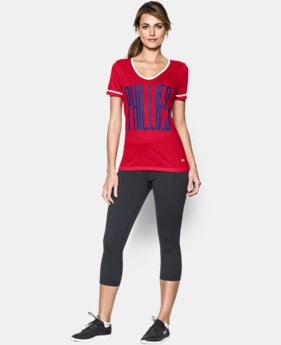 Women's Philadelphia Phillies UA Shirzee T-Shirt