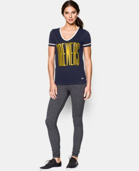 Women's Milwaukee Brewers UA Shirzee T-Shirt
