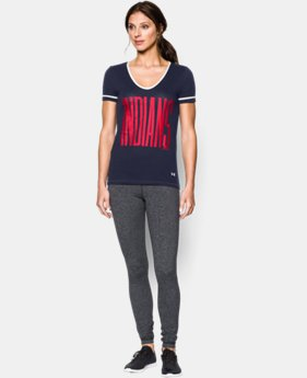 Women's Cleveland Indians UA Shirzee T-Shirt  1 Color $26.99