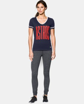 Women's Houston Astros UA Shirzee T-Shirt