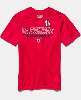 Boys' St. Louis Cardinals UA Tech™ T-Shirt
