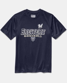 Boys' Milwaukee Brewers UA Tech™ T-Shirt