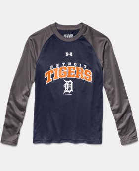 Boys' Detroit Tigers UA Tech™ Long Sleeve T-Shirt