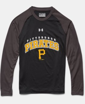 Boys' Pittsburgh Pirates UA Tech™ Long Sleeve T-Shirt