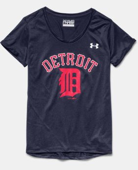 Girls' Detroit Tigers UA Tech™ T-Shirt