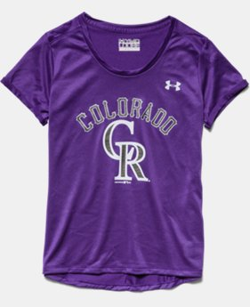 Girls' Colorado Rockies UA Tech™ T-Shirt