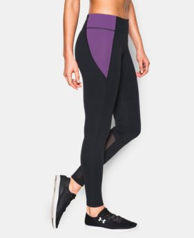 New Arrival Women's UA Mirror Color Block Leggings  3 Colors $52.99