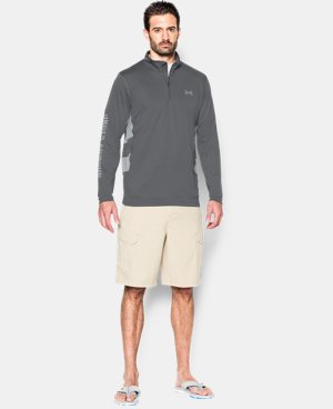 Men's UA Fish Hunter Tech ¼ Zip LIMITED TIME: FREE SHIPPING 4 Colors $59.99