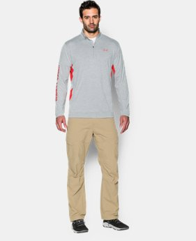 Men's UA Fish Hunter Tech ¼ Zip  2 Colors $37.99