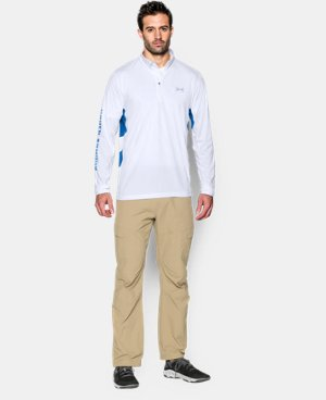 Men's UA Fish Hunter Tech ¼ Zip   $33.74 to $44.99