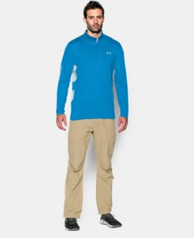 Men's UA Fish Hunter Tech ¼ Zip LIMITED TIME: FREE U.S. SHIPPING 2 Colors $37.99
