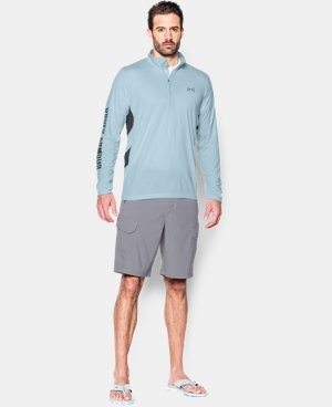Men's UA Fish Hunter Tech ¼ Zip LIMITED TIME: FREE SHIPPING 2 Colors $59.99