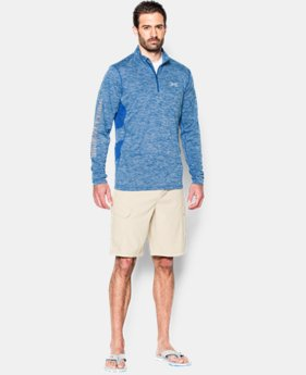 Men's UA Fish Hunter Tech ¼ Zip  1 Color $28.49