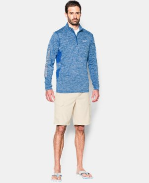 Men's UA Fish Hunter Tech ¼ Zip LIMITED TIME: FREE SHIPPING 3 Colors $33.74 to $44.99