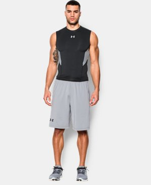 Men's UA CoolSwitch Sleeveless Compression Shirt   $39.99