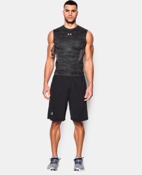 Men's UA CoolSwitch Sleeveless Compression Shirt  3 Colors $29.99