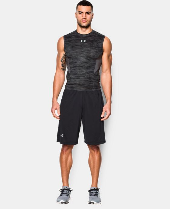 New to Outlet Men's UA CoolSwitch Sleeveless Compression Shirt  2 Colors $15.74 to $26.99