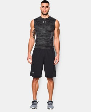 New to Outlet Men's UA CoolSwitch Sleeveless Compression Shirt  4 Colors $15.74 to $26.99