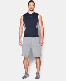 New to Outlet Men's UA CoolSwitch Sleeveless Compression Shirt  1 Color $15.74 to $26.99