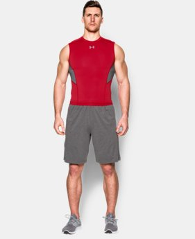 Men's UA CoolSwitch Sleeveless Compression Shirt   $26.99