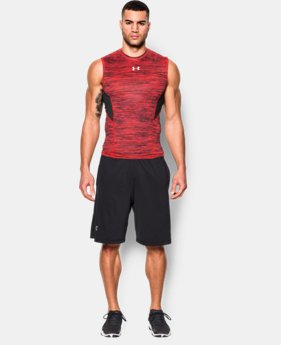 Men's UA CoolSwitch Armour Sleeveless Compression Shirt