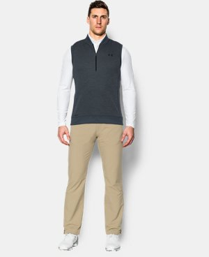 Men's UA Storm Sweaterfleece ¼ Zip Vest  2 Colors $74.99