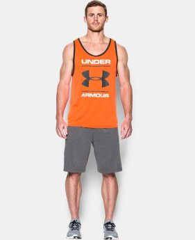 Men's UA Tech™ Graphic Tank LIMITED TIME: FREE SHIPPING 1 Color $27.99