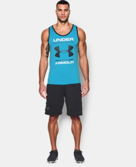 Men's UA Tech™ Graphic Tank LIMITED TIME: FREE U.S. SHIPPING 3 Colors $15.74