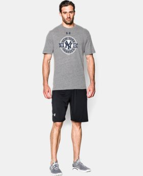 Men's New York Yankees Charged Cotton® Tri-Blend T-Shirt