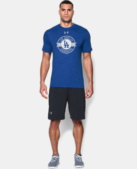 Men's Los Angeles Dodgers Charged Cotton® Tri-Blend T-Shirt LIMITED TIME: FREE U.S. SHIPPING 1 Color $34.99