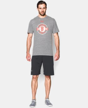 Men's San Francisco Giants Charged Cotton® Tri-Blend T-Shirt