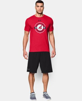 Men's Cleveland Indians Charged Cotton® Tri-Blend T-Shirt  1 Color $34.99