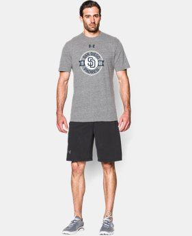 Men's San Diego Padres Charged Cotton® Tri-Blend T-Shirt