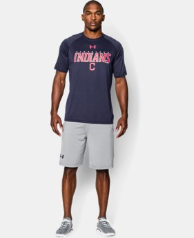 New Arrival Men's Cleveland Indians UA Tech™ T-Shirt LIMITED TIME: FREE U.S. SHIPPING  $34.99
